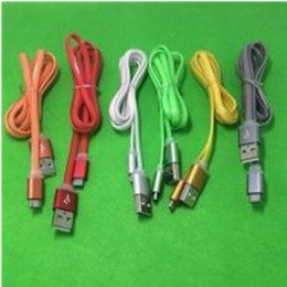 Wholesale Mhl Cables - Micro USB Data Cable Charger Cables V8 USB Cable for all Android Phone and I5 VS mhl cable 3 in 1 data cable
