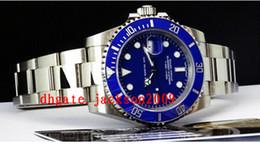 Wholesale Mens Automatic Mechanical Wrist Watch - Factory Supplier Luxury Watches Blue Dial CERAMIC Bezel - 116619 Automatic Sport Mens Watch Men's Wrist Watches