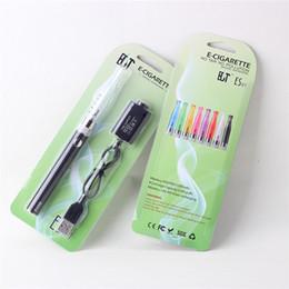 Wholesale Electronic Cigarette Shenzhen - H2 Evod blister kit Hot selling vape pen starter kits wholesale vaporizer H2 Evod electronic cigarette from shenzhen best quality