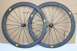 Wholesale Full Carbon Road Bike Wheelset - Super light 25mm width U shape carbon wheels,50mm carbon clincher wheelset 700c full carbon wheels with novatec A291SB F482SB hubs
