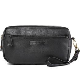 Wholesale Travel Kit Bags Men - 2017 Luxury Men 'S Toiletry Bags Leather Dopp Kit Fashion Cosmetic Bag Travel Kit For Women Makeup Bag Mens Shaving Bag