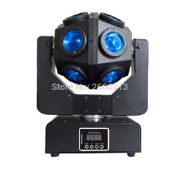 Wholesale Led Stage Wedding - RGBW 12X10W infinite led beam moving head light DMX512 Unrestricted rotation Beam stage lights KTV disco dj wedding party lamps