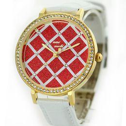 Wholesale Mini Table Watch Korea - Wholesale-Korea MiNi checkered table -premium women's watches, fashion watches, watches about OL spot wholesale ladies watches