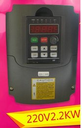 Wholesale Variable Frequency Drive Inverter Vfd - Brand new 220V 2.2KW Variable Frequency Drive VFD Inverter 3HP