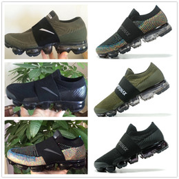 Wholesale Polka Dot Woman - 2017 New Rainbow VaporMax 2018 BE TRUE Men Woman Shock Running Shoes For Real Quality Fashion Man Casual Vapor Maxes Sports Sneakers