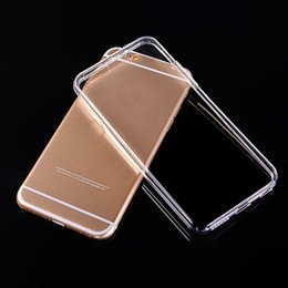 Wholesale Clearing Cost - Cheap Cost Premium Transparent Clear Cover Case Soft TPU Slim Back Case for iPhone 7 8 with Wholesale Prices