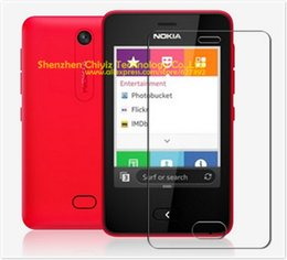 Wholesale N9 Cover - Wholesale-1 x Matte Anti-glare Anti glare Screen Protector Film Guard Cover For Nokia Asha 501 N9 mini
