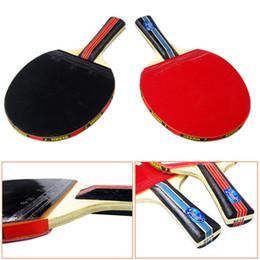 Wholesale paddle bat - Wholesale- Sale Original 1 set Table Tennis Racket PingPong Paddle Bat Case Bag Outdoor Sport Games