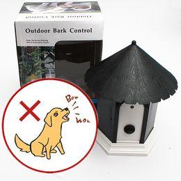 Wholesale Anti Bark Outdoor - Dog Pet Safe Outdoor Ultrasonic Anti Bark Barking Control Discreet Birdhouse