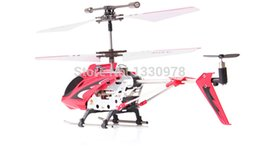 Wholesale Infrared Radio Control Toys - Wholesale-2015 hot sale SYMA remote control toys S107G 3 channels infrared control rc helicopter radio control free shipping