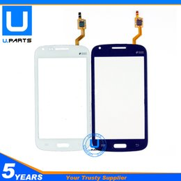 Wholesale Core I8262 - Wholesale-A+ Quality Touch Panel For Samsung Galaxy Core GT i8262 i8262D i8260 8262 8260 Digitizer Screen Black White Sensor 1PC Lot