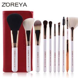 Zoreya make-up pinsel set online-10 stücke Make-Up Pinsel Professionelle Kosmetik Pinsel Foundation Bilden Pinsel Set Die Beste Qualität! Zoreya Brand