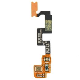 Wholesale G23 One - Hot Sales Power On Off Button Mic Proximity Sensor Flex Cable For HTC One X S720e G23 Free Shipping