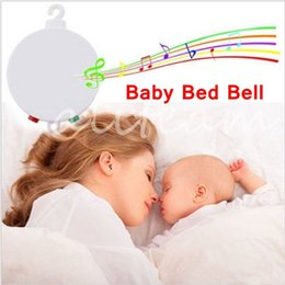 Wholesale Toys Jet Control - Newest Unisex Boy Girl Baby Toy 12 Melodies Songs Best Gift Electric Control Auto Rotation Baby Musical Mobile Music Box Play