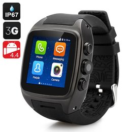 Wholesale Gprs 3g Camera - Fashionable Bluetooth Smart Watch X1 240 * 240 IPS Wristwatch Sync GPS 2G 3G WiFi GPRS 5.0M CMOS Smartwatch For IOS Android phone