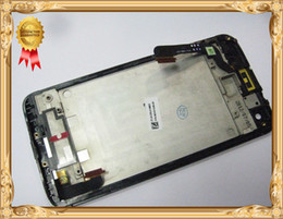 Wholesale Droid Lcd Screen - Wholesale-Verizon~For HTC Droid DNA Butterfly X920E Housing Glass LCD Display Touch Digitizer Screen + Frame Assembly FREE SHIPPING