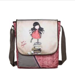 Wholesale Little Girls Cute Bags - Cute little girl cartoon shoulder bag Messenger Bag