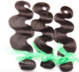 Wholesale Human Hair Weave Bleachable - Dyeable and Bleachable 100% Unprocessed Indian Hair Body Wave Wavy Human Hair Bundles Human Hair Extensions