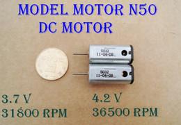 Wholesale High Speed Micro Motors - 10PCS 10*12 MM N50 3.7-4.2V 36500 RPM Super Magnetic High Speed Motor Model Aircraft Motor Micro DC Motor