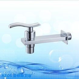 Wholesale Vanity Sink Faucet Set - Free Ship Multifunctional Modern Single Cold Water Tap Bathtub Faucet Bathroom Vanity Sink Faucet Kitchen Basin Tap Toilet Set