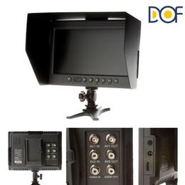 "Wholesale Monitor Dslr - F&V DOF F1 7"" HDMI LCD On Camera Monitor with Sun Shade for Canon Nikon Sony Panasonic BMCC BMPCC DSLR Cameras"
