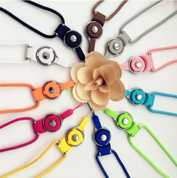 Wholesale Neck Strap Ring - Two In One Hanging Rope Removable Rotate Ring Buckle Neck Straps Fall Proof Plastic Pendant Lanyards Creative 0 68cr B