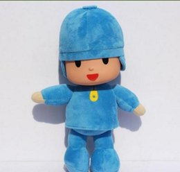Wholesale Large Pato Toy - Trader BANDAI Plush 25cm Pocoyo Plush Doll Large Doll Lovely Pato Elly Cartoon Figure Toys