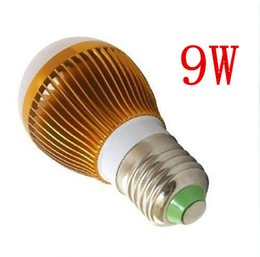 Wholesale Best Price Cree Lights - Free dropshipping Retail Dimmable Bubble Ball Bulb AC85-265V 9W E14 E27 B22 GU10 High power Globe light LEDLight best price+CE ORHS