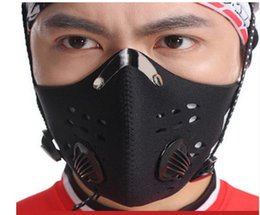 Wholesale Bike Training - Safety Mask antimist activated carbon mountain bike dust mask outdoor ride motorcycle masks jogging running training mask