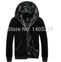 Wholesale Boys Sport Coat Size - male add big size men's add thick velvet fur collar tracksuits sport warm hoodies coat jacket young boy M- 4XL 5XL 6XL coat hoodies jacket