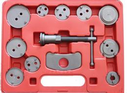 Wholesale Disc Caliper - 12 Pcs Automotive Disc Brake Piston Caliper Pad Set Car Wind Back Tool Kit