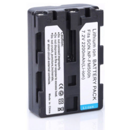 Wholesale Alkaline Rechargeable - Wholesale 2pcs 2200mAh NP-FM500H FM500H Camera Battery + 1* Charger For SONY A300 A350 A900 A700K A200,for sony accessories