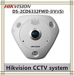 Wholesale Micro Sd Ds - cctv camera Fisheye view type network cameras day and night 3MP DS-2CD6332FWD-I(V)(S) ipcamera POE  Micro SD SDHC SDXC
