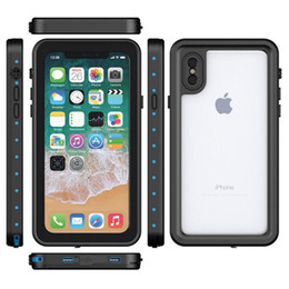 2019 защитные корпуса для смартфонов Для iPhone X Case мягкий гель TPU + PC ультра гибридный iphone 8 case задняя крышка водонепроницаемый защитный чехол для смартфона iphone8 iPhoneX дешево защитные корпуса для смартфонов