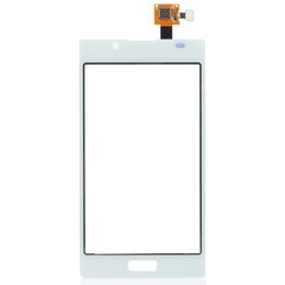 Wholesale Lcd Screen White For Sale - Hot Sale LCD Glass Touch Screen Digitizer Replacement For LG Optimus L7 P700 White Free Shipping
