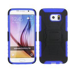 Wholesale Plastic S Clips - for Alcatel U5 HD A7 XL Idol 5 S A3 A30 Plus Dual Layer Protective Premium Shell Holster Kiskstand Clip Combo Phone Case