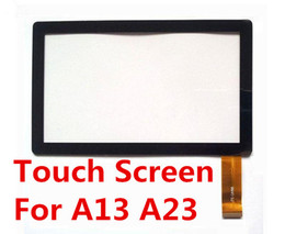 Wholesale Touch Screen Tablet Pc A13 - Brand New Touch Screen Display Glass Replacement For 7 Inch Q88 A13 A23 Tablet PC MID TC1