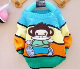 Wholesale Cardigan Sweaters For Children - Wholesale-Children 1-3 years old beautiful warm sweater Wholesale and retail suitable for winter