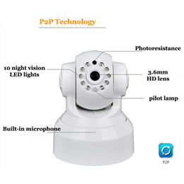 Wholesale Install Surveillance Cameras - HD 720P IP Camera Infrared night vision wifi remote control Easy to install APP phone Surveillance camera Baby Safety Monitoring
