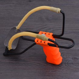 Wholesale Hunting Bow Sales - Hot Sale Powerful Slingshot Wrist Brace Support Slingshot Bow Catapult Outdoor Hunting Slingshot Y0814