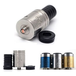 Wholesale Ecig Rebuildable Clearomizer - little boy rda mechanical mod rebuildable atomizer tool kit VS doge rda 510 thread vaporizer pen ecig clearomizer DHL FREE ATB056