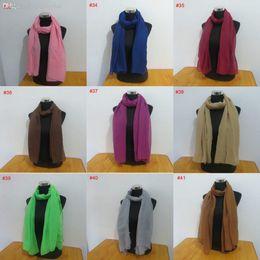 Wholesale Cheap Wholesale Scarf Charm - Wholesale-32 colors very charm fashion hijab head plain viscose scarf cheap 100*180cm