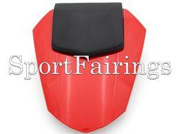 2019 funda de asiento yamaha r6 Cubierta trasera del asiento de la motocicleta roja para Yamaha YZF600 R6 YZF-600 Año 08 09 10 11 12 13 14 Inyección Cubierta de asiento de carenado de plástico ABS Nuevo rebajas funda de asiento yamaha r6
