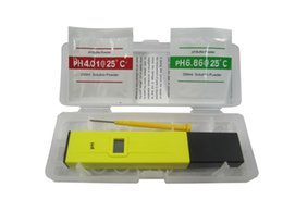 Wholesale Cheap Water Meters - 2015 Hot and Cheap product Pocket Pen type Water PH Meter Digital Tester PH-009 easy to use