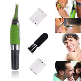 Wholesale Men Touch Micro - Hot now Micro Touch Max Personal Ear Nose Neck Eyebrow Hair Trimmer Groomer Remover free shipping