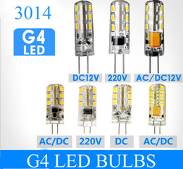Wholesale G4 Led 7w - High Power LED Blub G4 G9 24 48 64 leds SMD 3014 3W 5W 7W 110V 220V 12V warranty 2years Crystal chandelier lamp