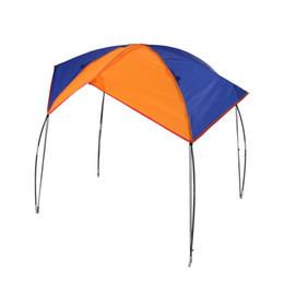 Barco sol online-Al por mayor- 2-4 Personas Barco Refugio Sun Velero Toldo Cubierta Pesca Canopy Impermeable Tienda de campaña Sun Shade Protección UV