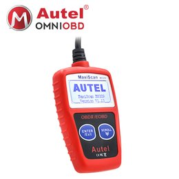 Wholesale jeep maxiscan code reader - Autel MaxiScan MS309 CAN BUS OBD2 Code Reader EOBD OBD II Diagnostic Tool Autel MS309 Code Scanner Multi-language better elm327