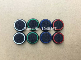 Wholesale Stick Grips - Free Shipping Durable Controller Analog Thumbstick Joystick Stick Grips Thumb Caps For Sony Playstation PS4 Accessories