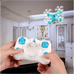 Wholesale Rc Mini Helicopter Free Shipping - Newest Quadcopter JJRC DHD D1 Helicopter Drone Mini Headless Mode 2.4G 4CH 6Axis RC Drone Free Ship